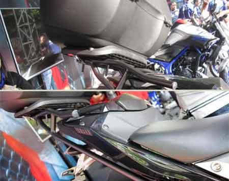 rear carrier Yamaha MT-25