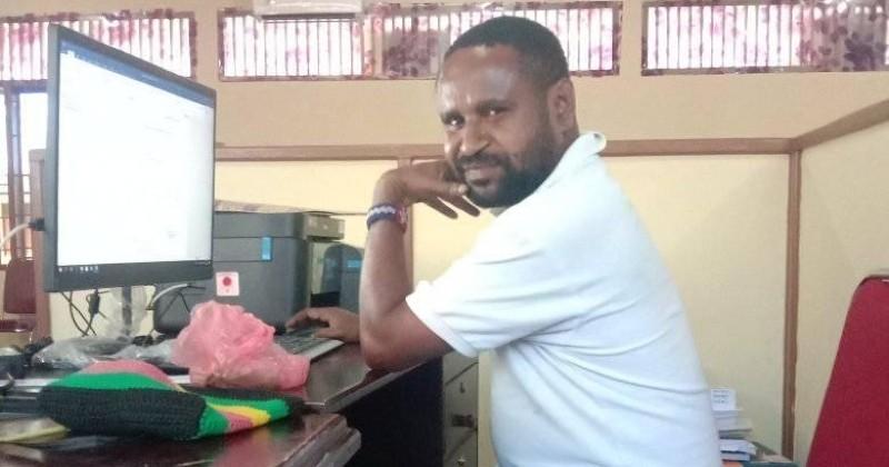 Zakarias Wilil, Koordinator Lembaga Otsus Papua PP PMKRI 2020-2022