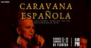 Una caravana Española | Teatro Bernardo Romero Lozano