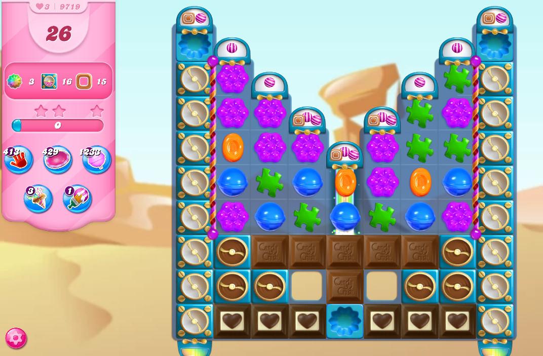 Candy Crush Saga level 9719