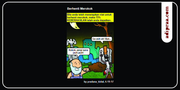 Kendalikan keinginan merokok | adipraa.com