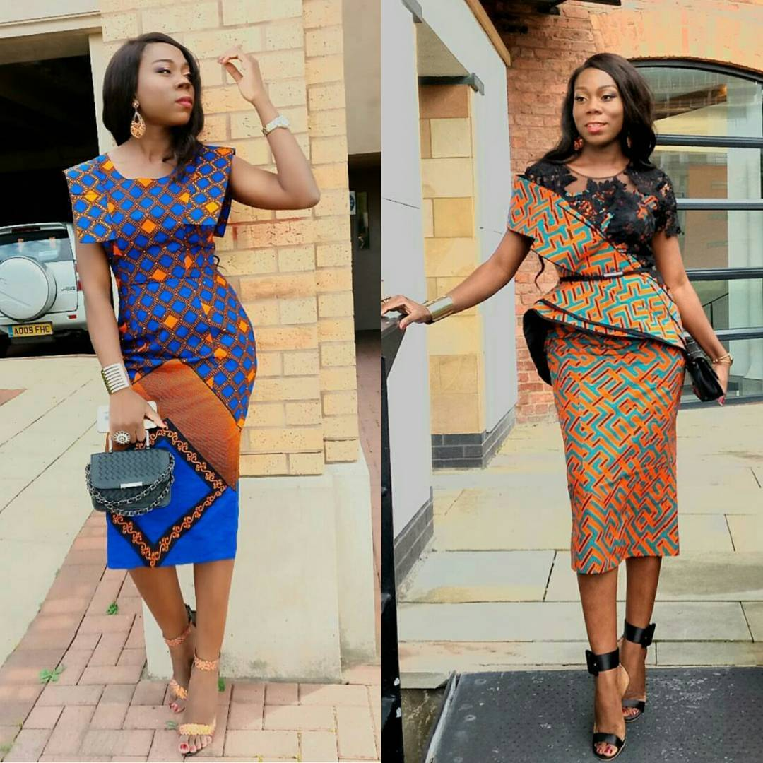 Ladies See 45 Pictures Of Latest Ankara Styles 2018
