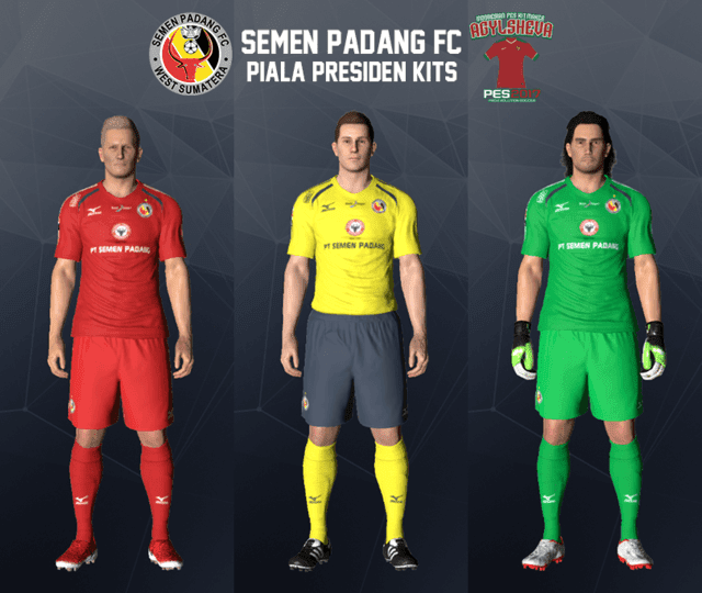 Semen Padang Kit PES 2017
