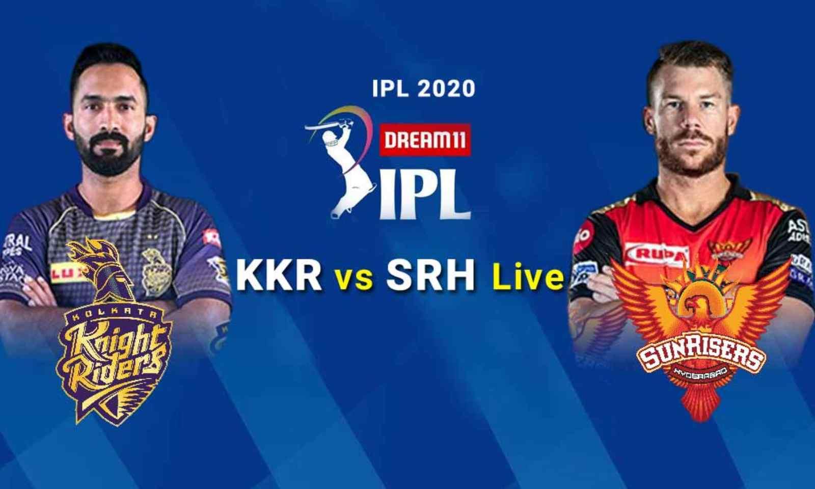 IPL Live Score,KKR vs SRH लाइव अपडेट्स: सनराइजर्स हैदराबाद के बाद कोलकाता नाइट राइडर्स शीर्ष पर, डेविड वार्नर, जॉनी बेयरस्टो