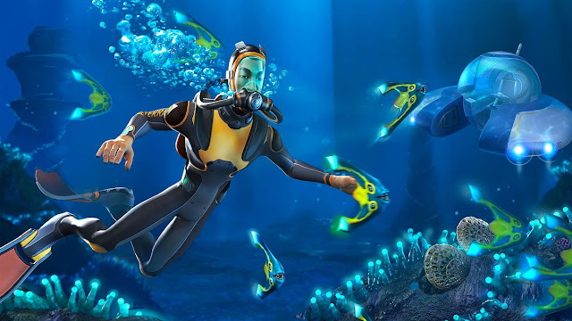 لعبة البقاء و إستكشاف المحيطات Subnautica تحط رحالها أخيرا على جهاز PS4 و هذا موعدها …