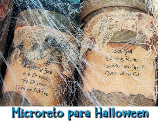 Microreto sustitos de Halloween