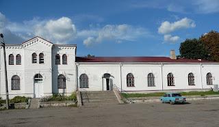 Золотоноша-1. Залізничний вокзал