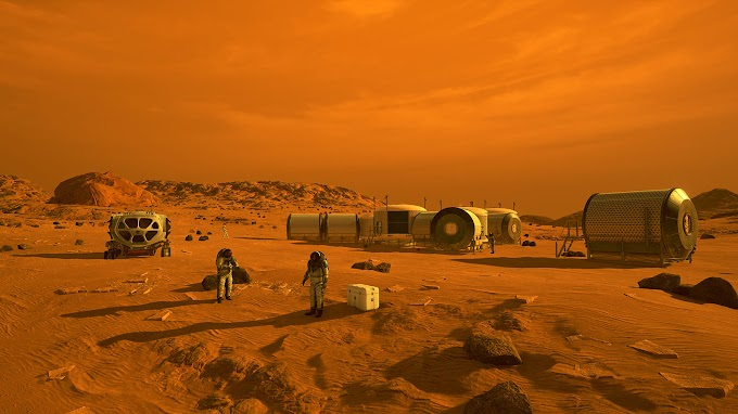 How it would be to live on Red Planet