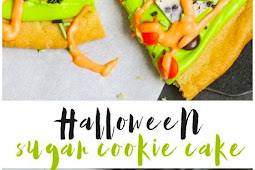 Halloween Sugar Cookie Cake Recipe