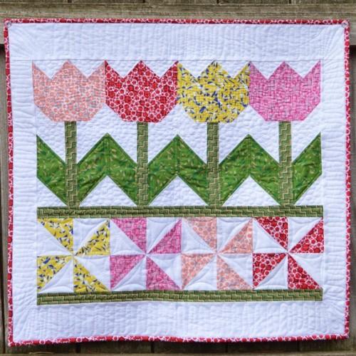 Tulip Time - Quilt Tutorial