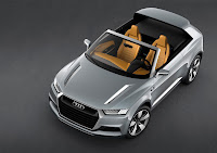 Audi Crosslane Coupe Concept top