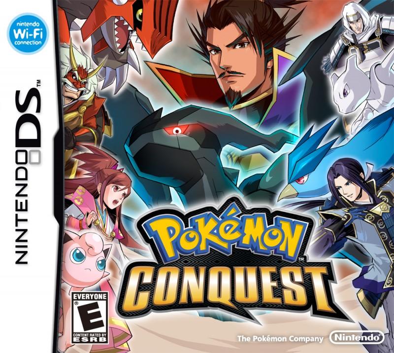 Pokémon Conquest ROM DS