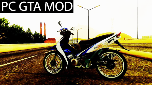 Free Download Yamaha 125z STD version  Mod for GTA San Andreas