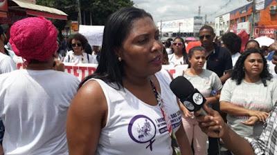ALAGOINHAS: Dia Internacional da Mulher é marcado por marcha no centro da cidade