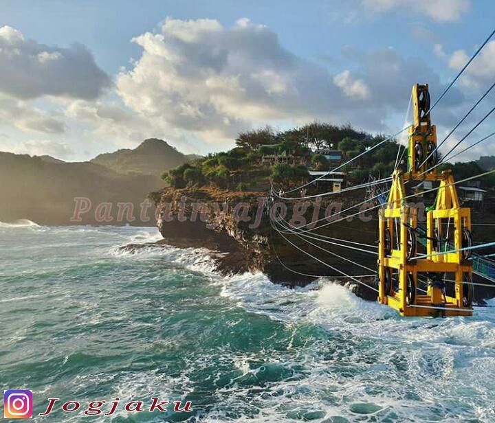 gondola pantai timang