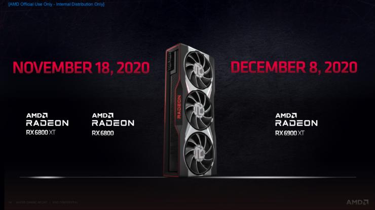 شركة AMD تعود مجددا بسلستها الجديدة من كرت الشاشة RX 6000