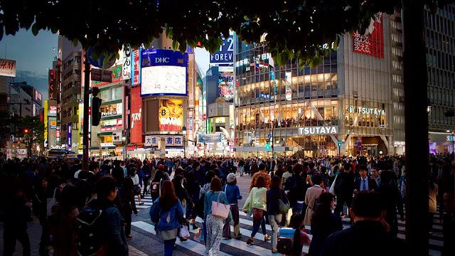 Japón Tokio Multitud