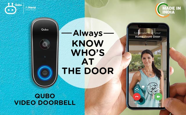 Qubo Smart WiFi Wireless Video Doorbell