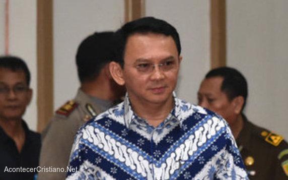 Basuki Tjahaja Purnama sentenciado por blasfemia