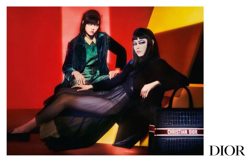 Dior fall-winter 2021 campaign.