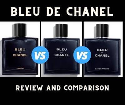 Bleu De Chanel EDT vs EDP (vs Parfum)