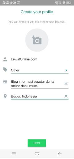 Cara Membuat Akun Bisnis Whatsapp di Smartphone