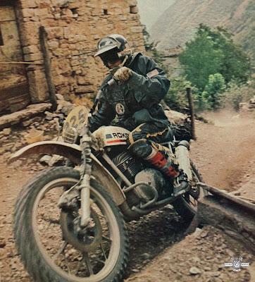 Modifikasi Motor Trail/Cross Adventure