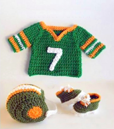 crochet pattern baby jersey hat and booties