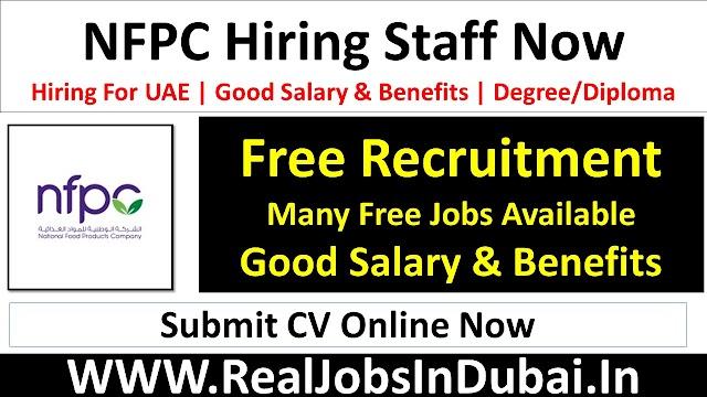 NFPC Careers Jobs Opportunities In Dubai - UAE 2021