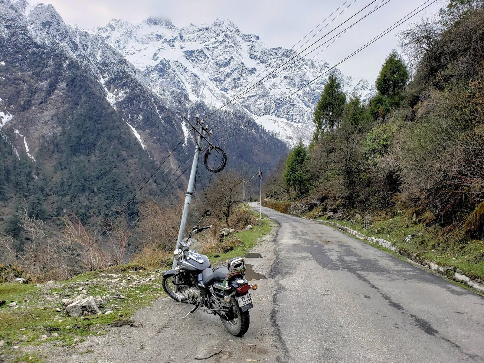 नार्थ सिक्किम की एक घाटी