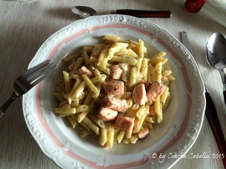 pasta-salmón-plato