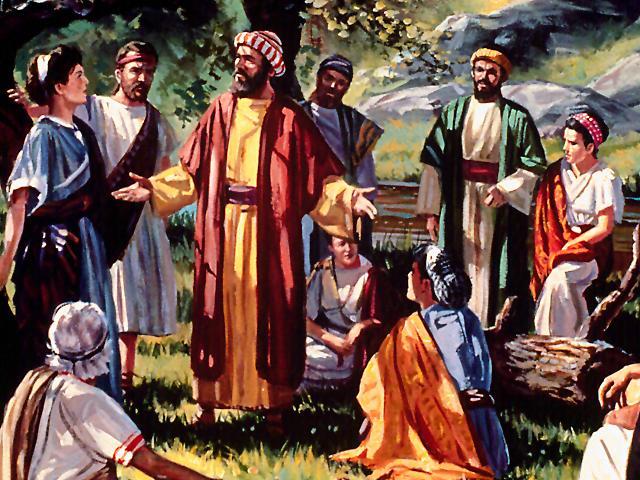 os sete diaconos