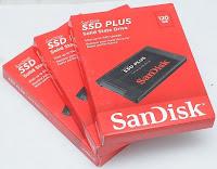 Jual Sandisk SSD Plus 120GB Baru
