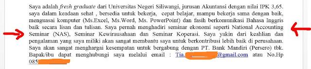Pada postingan sebelumnya saya telah membahas  Geveducation:  Cara Membuat Surat Lamaran Kerja Dari Nol