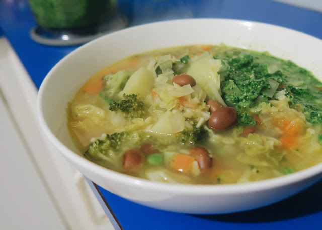 Minestrone Veloce | Gennaro's Fast Cook Italian | salt sugar and i