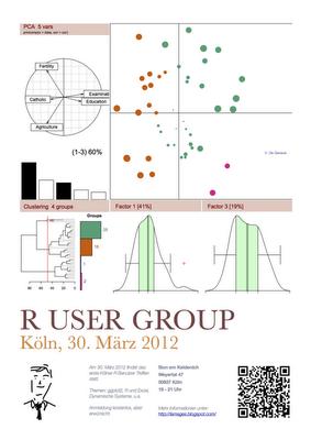 Reminder: Kölner R User Group meets on 30 March 2012