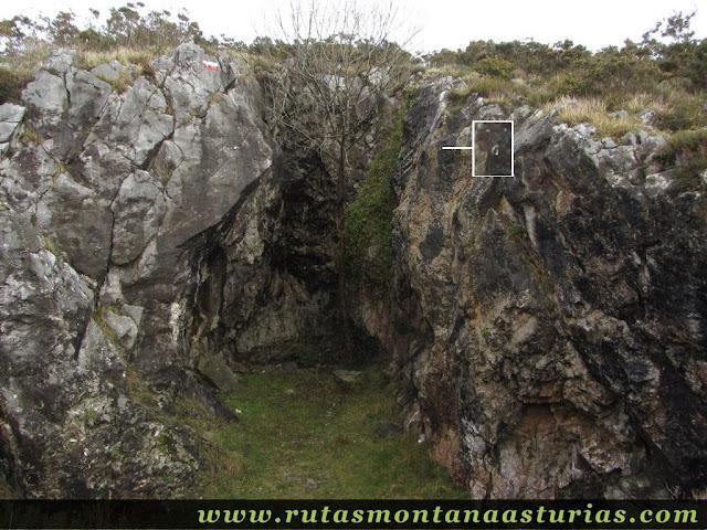 Grieta escalada en el Cadaval