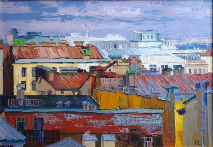 Человек и город. Александра Тарасова
