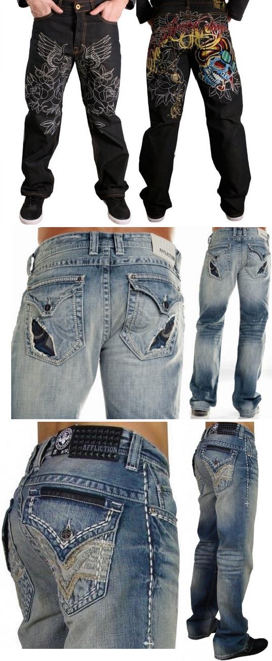 Moda Masculina Ropa Para Hombres Jeans Pantalones Para Hombres