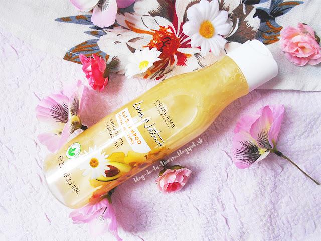 Šampón a kondicionér s avokádovým olejom a harmančekom Love Nature