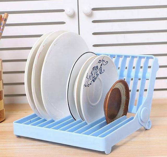 model rak piring rapi dan cantik terbaru