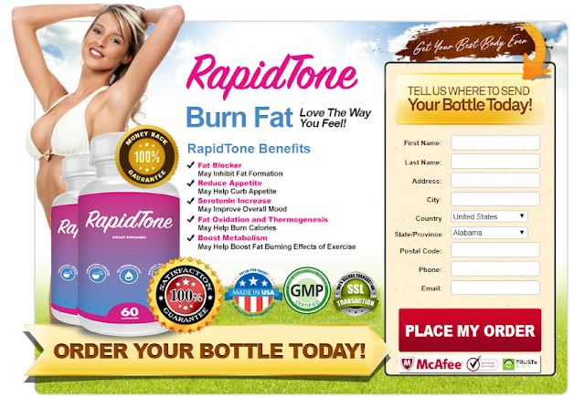 Rapid Tone Diet Weight loss Pills, Reviews, Shark Tank, Price & Where to Buy?