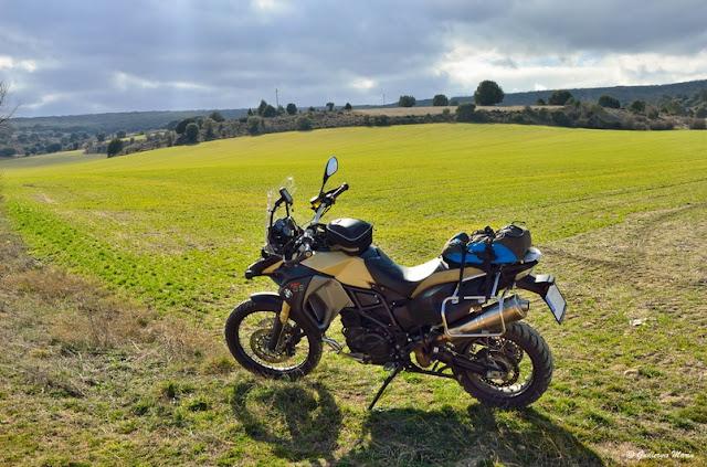 BMW F800 GS. Trail forever. Albarracín Por Fin.