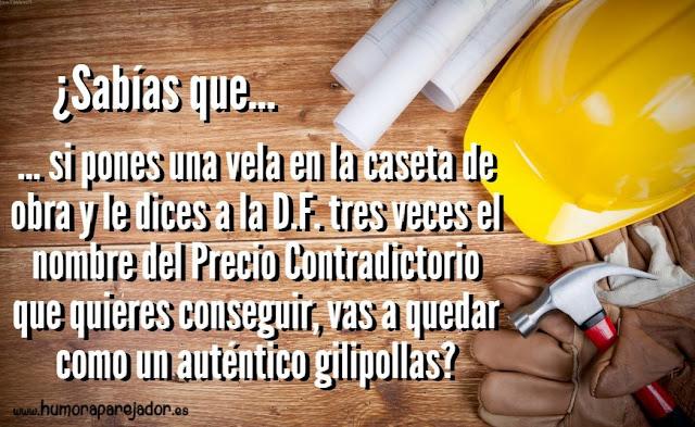 precio contradictorio, construcción, aparejador, arquitectura