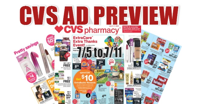CVS Ad Scan 7-5 to 7-11