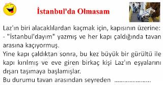 İstanbul'da Olmasam - Karadeniz Fıkraları - Komikler Burada