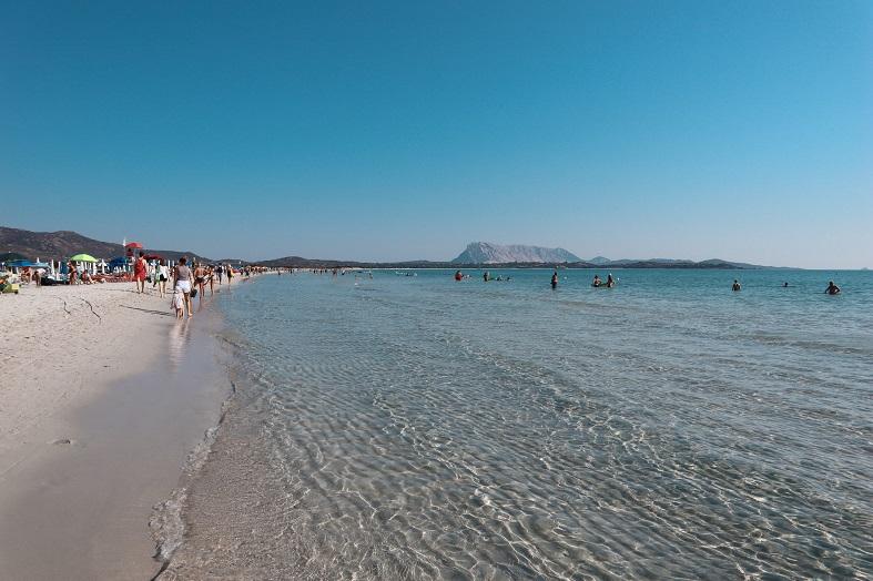Spiaggia La Cinta a San Teodoro