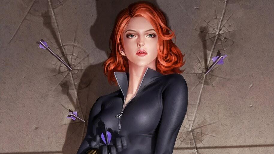 Black Widow, Marvel, 4K, #4.2287
