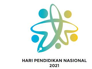 Logo Peringatan Hari Pendidikan Nasional Tahun 2021