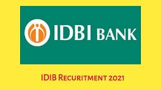 IDBI Bank Recruitment 2021 – Various Technical Lead Post  Apply Online